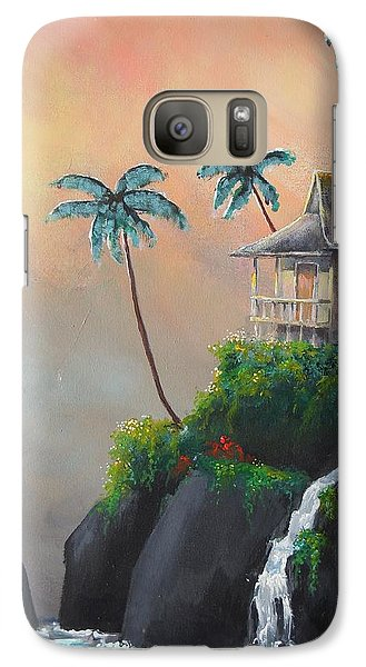 Galaxy Case featuring the painting Island Getaway by Dan Whittemore