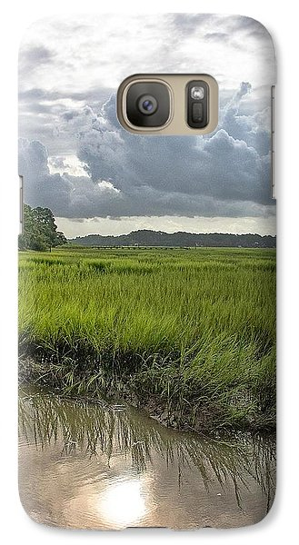 Galaxy Case featuring the photograph Island by Margaret Palmer