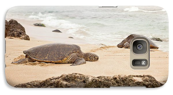 Galaxy Case featuring the photograph Island Rest by Heather Applegate