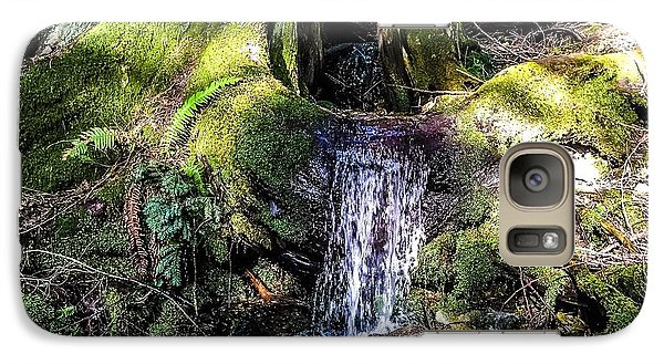 Galaxy Case featuring the photograph Island Stream by William Wyckoff