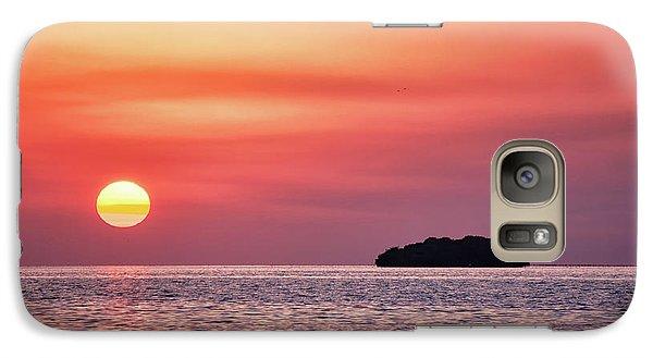 Island Sunset Galaxy S7 Case