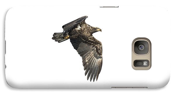 Galaxy Case featuring the photograph Isolated Eagle 2017-2 by Thomas Young