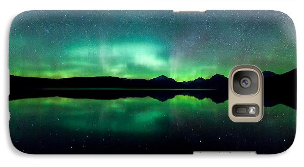 Galaxy Case featuring the photograph Iss Aurora by Aaron Aldrich