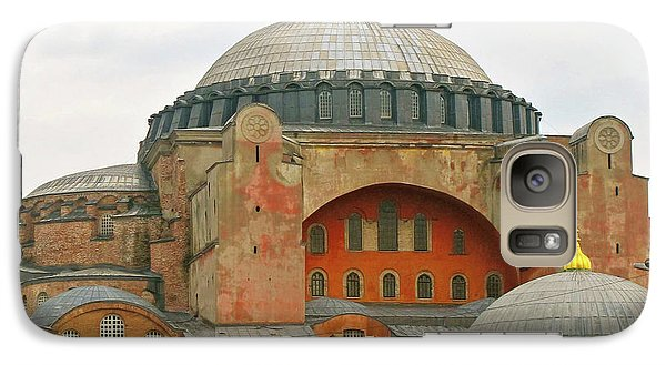 Galaxy Case featuring the photograph Istanbul Dome by Munir Alawi