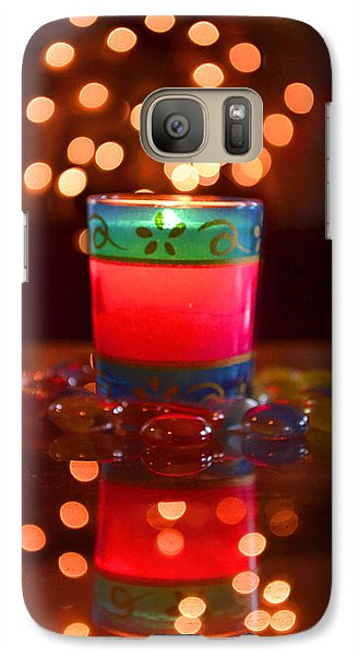 Galaxy Case featuring the photograph It Feels Like Christmas II by Rima Biswas
