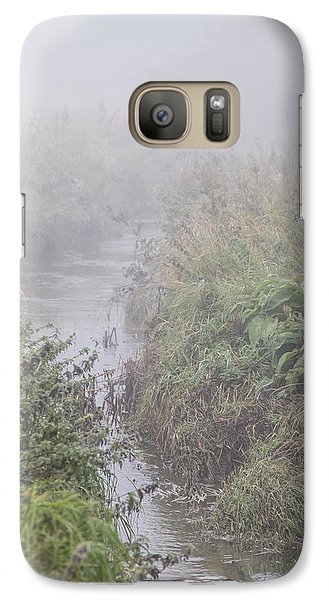 Galaxy Case featuring the photograph It Flows From The Mist by Odd Jeppesen