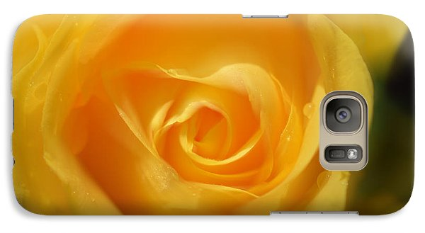 Galaxy Case featuring the photograph It Is At The Edge Of The Petal That Love Waits by Douglas MooreZart