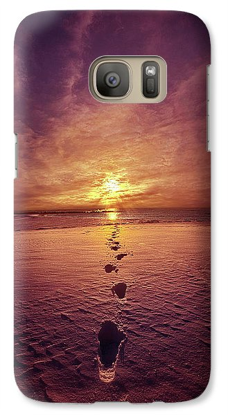 Galaxy Case featuring the photograph It Is Then That I Carried You by Phil Koch