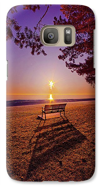 Galaxy Case featuring the photograph It Is Words With You I Seek by Phil Koch