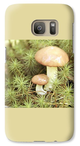 Galaxy Case featuring the photograph It Takes Two.. by Martha Ayotte