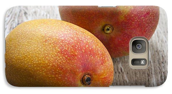 It Takes Two To Mango Galaxy Case by Elena Elisseeva