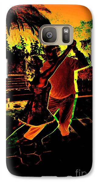 Galaxy Case featuring the photograph It Takes Two To Tango by Al Bourassa