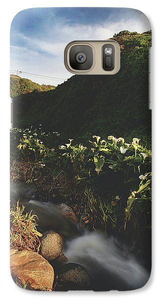 Galaxy Case featuring the photograph It Was A Hard Winter by Laurie Search