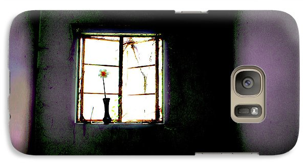 Galaxy Case featuring the photograph It Was Her Room... by Gray  Artus