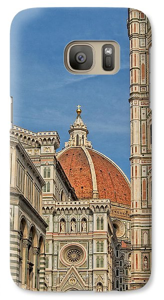 Galaxy Case featuring the photograph Italian Basilica by Kim Wilson