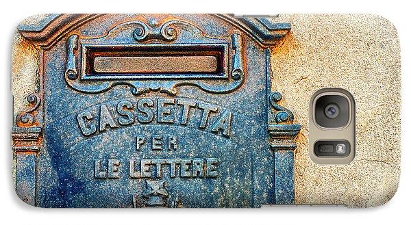 Italian Mailbox Galaxy S7 Case