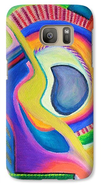 Galaxy Case featuring the pastel Italian Opera by Polly Castor