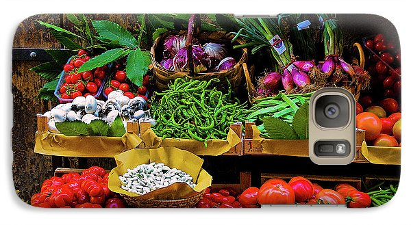 Galaxy Case featuring the photograph Italian Vegetables  by Harry Spitz