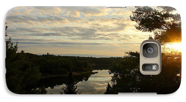 Galaxy Case featuring the photograph It's A Beautiful Morning by Debbie Oppermann