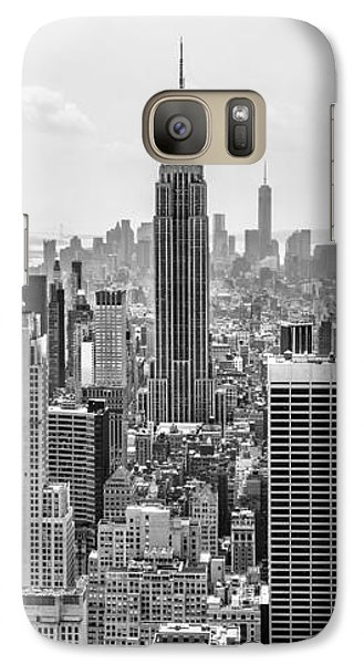 Empire State Building Galaxy S7 Case - It's A Jungle Out There by Az Jackson
