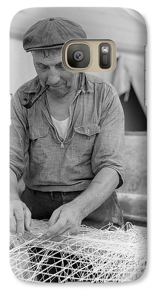 Galaxy Case featuring the photograph It's My Job by John Stephens