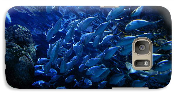 Galaxy Case featuring the photograph It's Time For School by Linda Unger