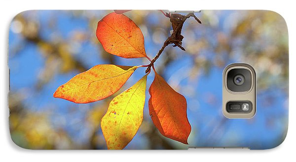 Galaxy Case featuring the photograph It's Time To Change by Linda Unger