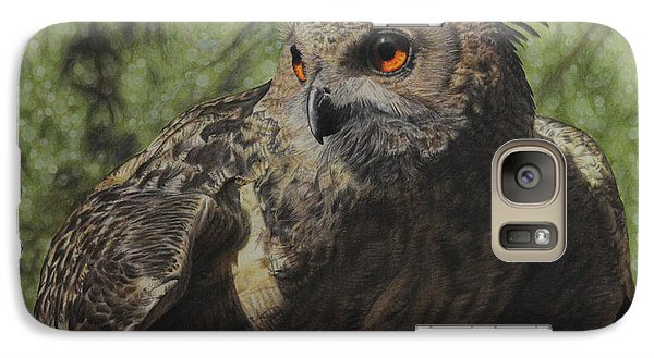 Galaxy Case featuring the painting Ivan by Jennifer Watson