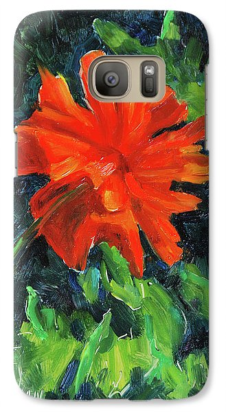 Galaxy Case featuring the painting I've Got My Red Dress On by Billie Colson