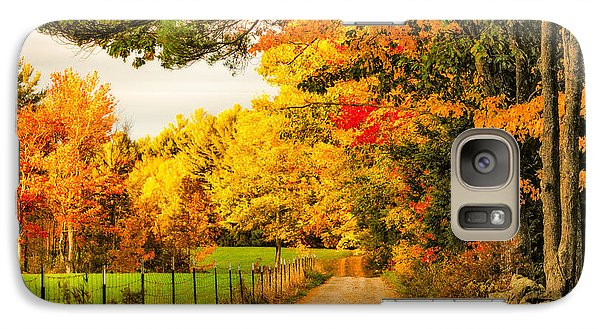 Galaxy Case featuring the photograph I've Got Sunshine On A Cloudy Day by Robert Clifford