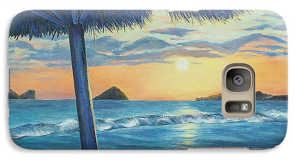 Galaxy Case featuring the painting Ixtapa by Susan DeLain
