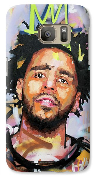 J Cole Galaxy S7 Case by Richard Day