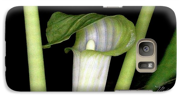 Galaxy Case featuring the photograph Jack In The Pulpit by Meta Gatschenberger