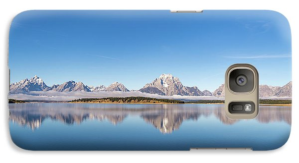 Galaxy Case featuring the photograph Jackson Lake by Mary Hone