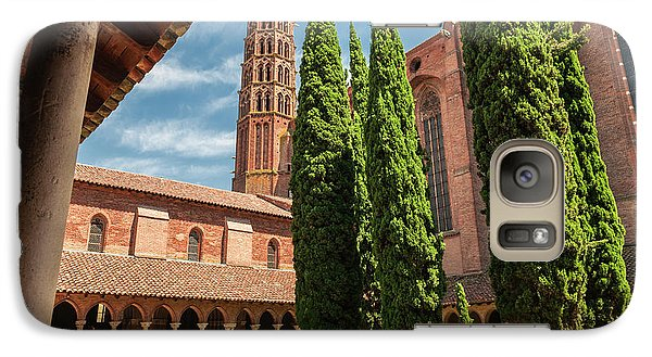 Galaxy Case featuring the photograph Jacobin Convent In Toulouse by Elena Elisseeva