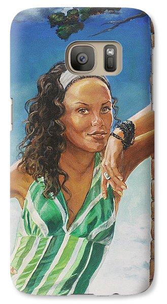 Roger Dean Galaxy S7 Case - Jade Anderson by Bryan Bustard