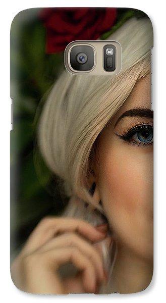 Jade Close Crop Galaxy S7 Case