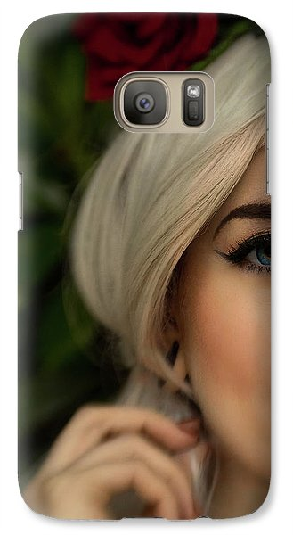 Jade Close Crop Galaxy S7 Case