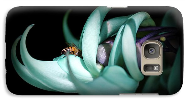 Galaxy Case featuring the photograph Jade by Laura DAddona