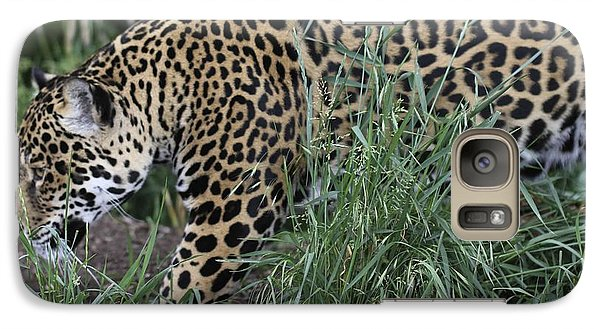 Galaxy Case featuring the photograph Jag by Gary Bridger