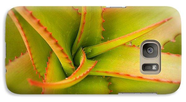 Jagged Aloe Galaxy S7 Case