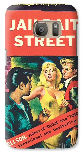 Galaxy Case featuring the painting Jailbait Street by Ray Johnson