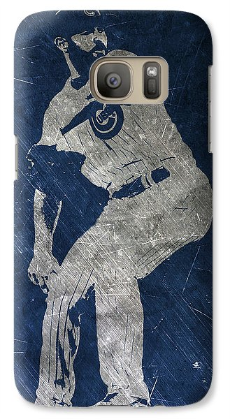 Jake Arrieta Chicago Cubs Art Galaxy Case by Joe Hamilton