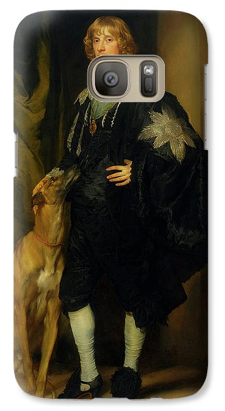 Galaxy Case featuring the painting James Stuart - Duke Of Richmond And Lennox                       by Anthony Van Dyck