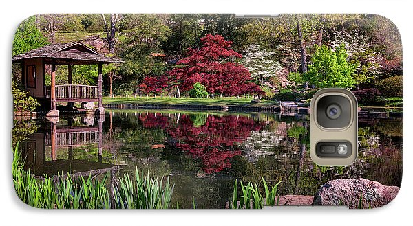 Galaxy Case featuring the photograph Japanese Garden At Maymont by Rick Berk