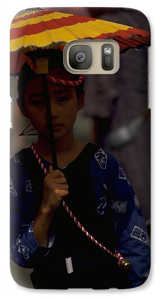 Japanese Girl Galaxy S7 Case