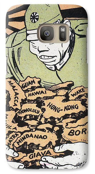 Galaxy Case featuring the photograph Japanese Imperialism by Granger