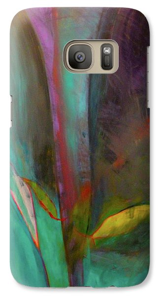 Galaxy Case featuring the painting Japanese Longstem  by Iconic Images Art Gallery David Pucciarelli