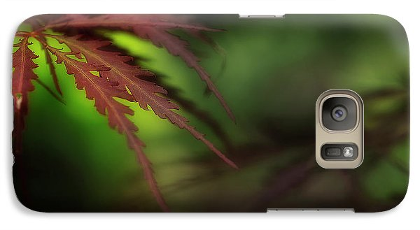 Galaxy Case featuring the photograph Japanese Maple by Mike Eingle
