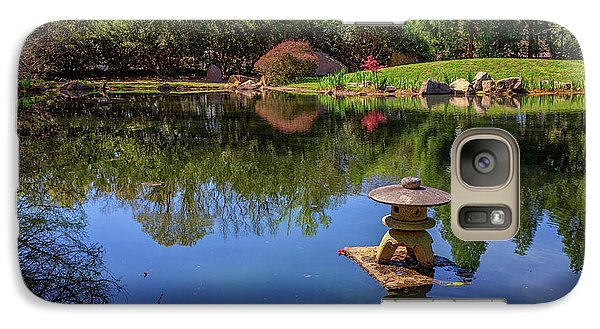 Galaxy Case featuring the photograph Japanese Reflections At Maymont by Rick Berk